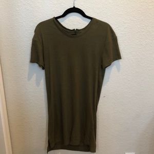 Tee shirt dress from urban